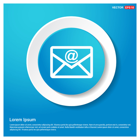 e-mail icon Ilustrace
