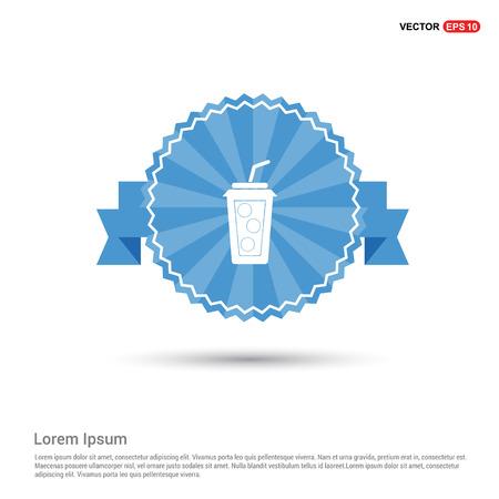 Cold drink icon Ilustração
