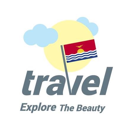 Web travel logo Logó