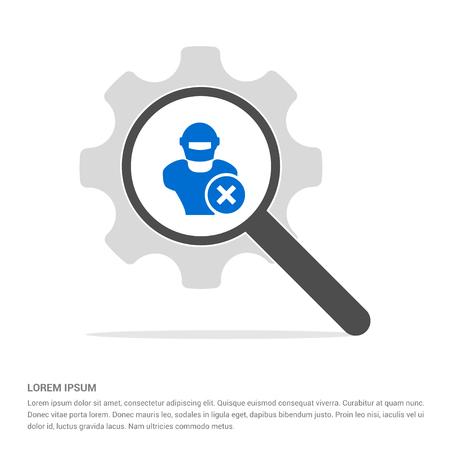 Hacker Icon - Free vector icon
