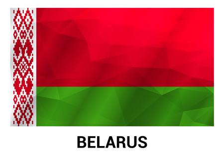 Belarus flag design vector