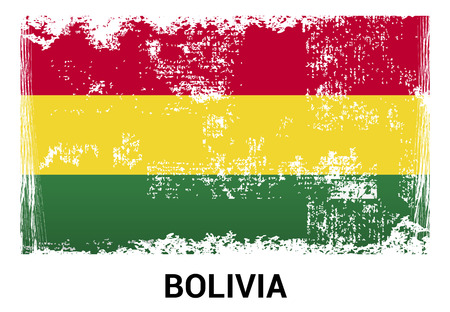 Bolivia flag design vector