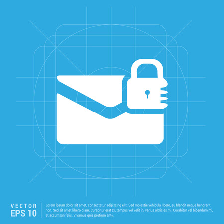 message secure icon