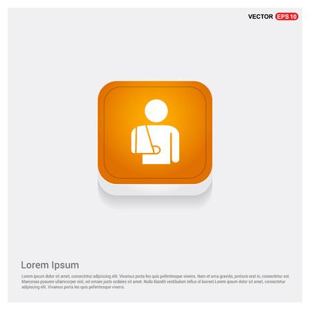 patient, icon  イラスト・ベクター素材