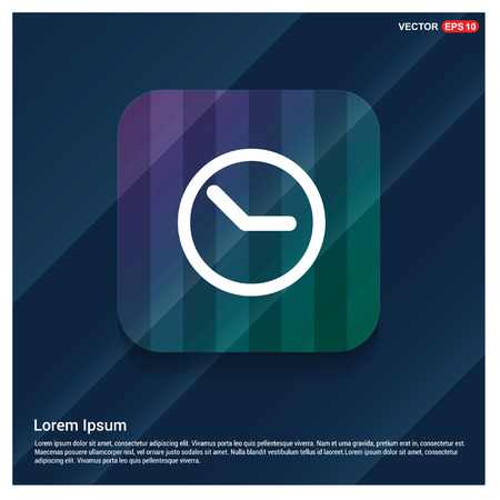 Clock Icon - Free vector icon