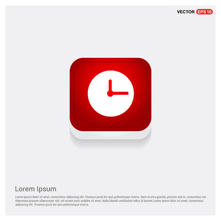 Clock Icon Vector Illustratie