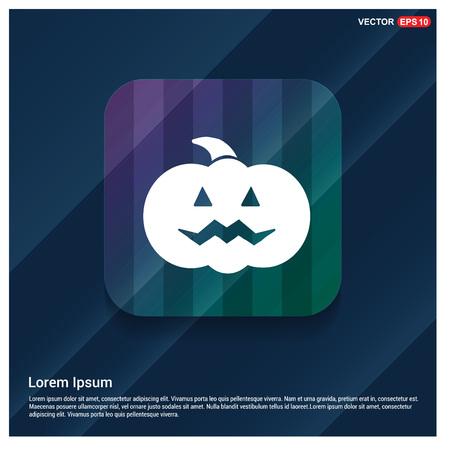 Pumpkin icon 일러스트