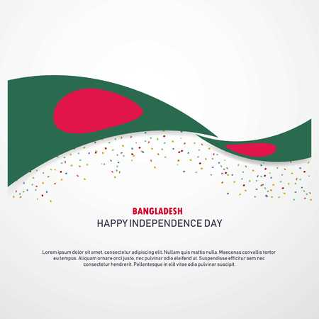 Bangladesh Happy independence day Background