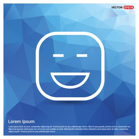 smiley icon, Face icon - Free vector icon