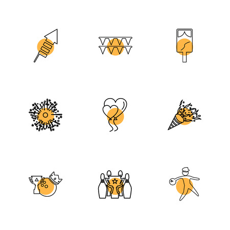 tag , heart , fireworks , party , birthday , celebrations , anniversary , icon, vector, design,  flat,  collection, style, creative,  icons , cake , bounty , ballons, bowling , gift , money ,