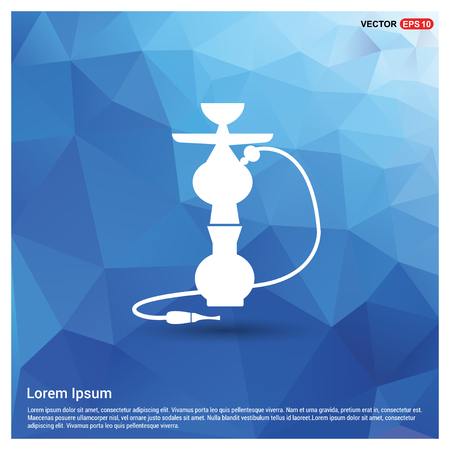 Hookah icon - Free vector icon Illustration