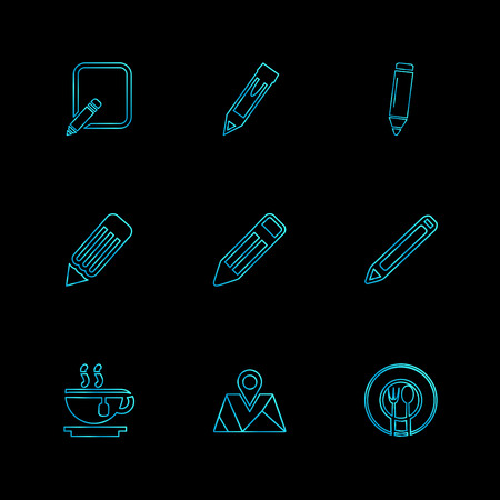 medical , surgury , tools , stationary , pencil , pen , school , write ,  study , education , students ,icon, vector, design, flat, collection,  style,