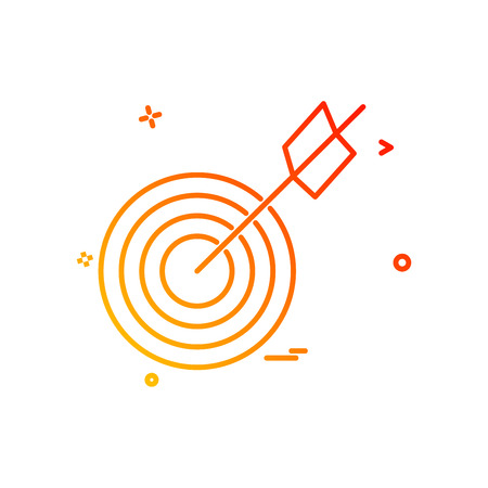 archery icon vector design
