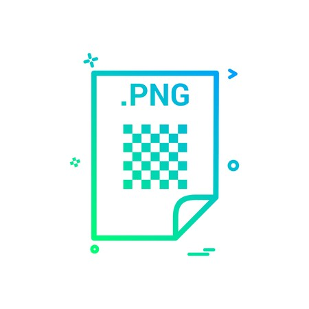 PNG application download file files format icon vector design Foto de archivo - 118324643