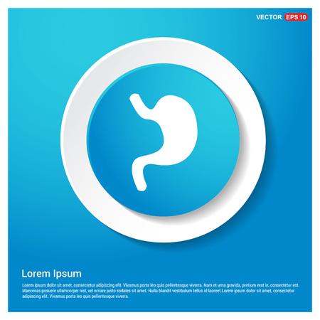 stomach icon Stock Vector - 118324758