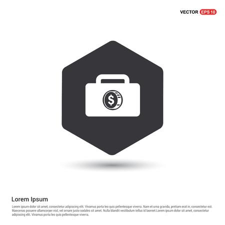 Money Bag icon Illustration
