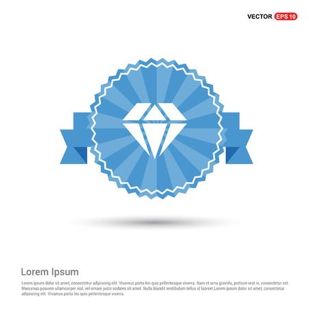 Diamond icon Stock Illustratie