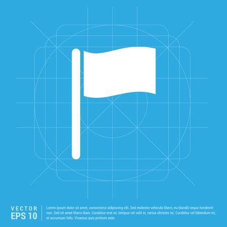 Flag icon Stock Vector - 113373294