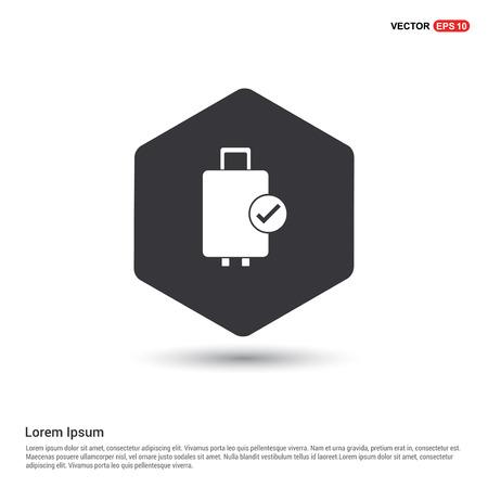 Bag icon Illustration