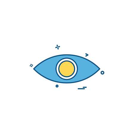 eye eyeball look search spy vision icon vector desige Banque d'images - 118328937
