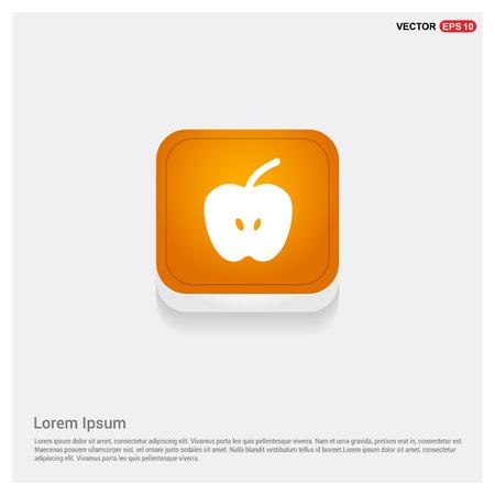 Apple fruit icon Banque d'images - 118328999