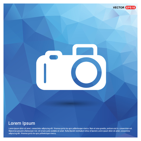 Photo camera icon - Free vector icon