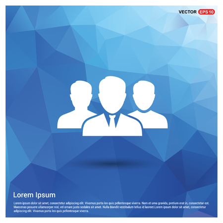 Group of people icon. - Free vector icon