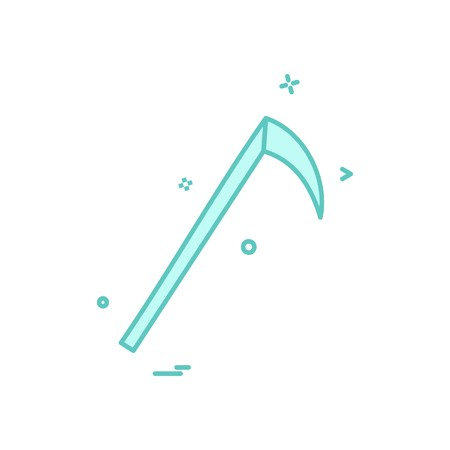 Halloween icon design vector Standard-Bild - 118331343
