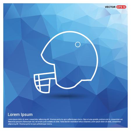 Cricket Helmet Icon - Free vector icon