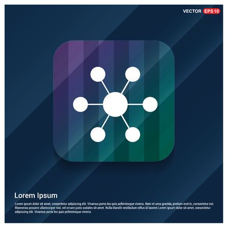 Network, share icon