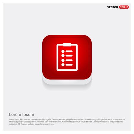 Notepad icon  イラスト・ベクター素材