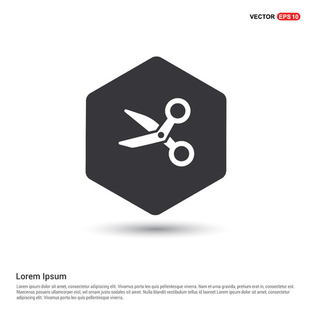 Scissors icon  イラスト・ベクター素材