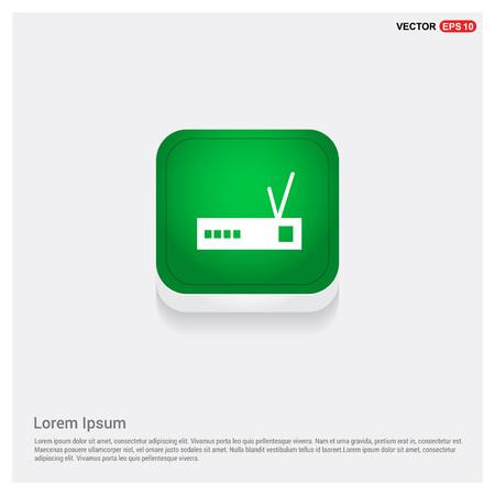 Wifi router icon Illustration