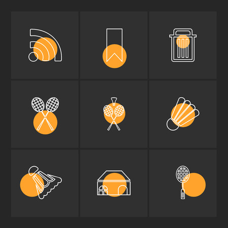 Sports , games , atheletes , arrows , left , right , up , down , cricket  , football , tennis , bails , ball , wicket , halmet , icon, vector, design,  flat,  collection, style, creative,  icons