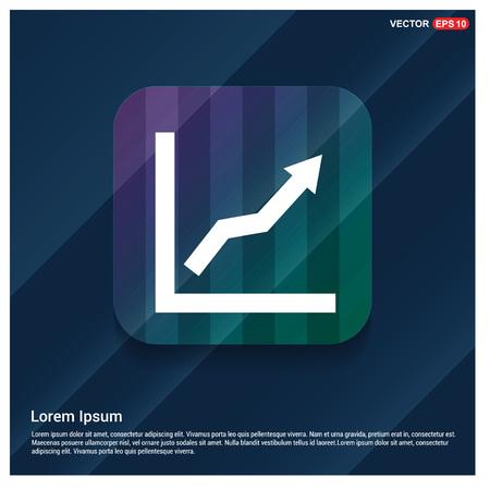WebArrow Expand Icon, Vektoros illusztráció
