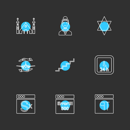 religion; networks; team; science; share; networking; islam; jesus; christan; god; father; prayer; cross; technology; maths; icon; vector; design; flat; collection; style; creative; icons , hindu , geeta , website , ui ,
