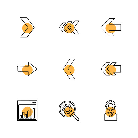 graph , setting , gear , arrows , directions , left , right , pointer , download , upload , up , down , play , pause , foword , rewind , icon, vector, design,  flat,  collection, style, creative,  icons