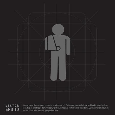 patient, icon Illustration