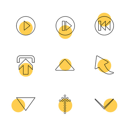 arrows , directions , left , right , pointer , download , upload , up , down , play , pause , foword , rewind , icon, vector, design,  flat,  collection, style, creative,  icons