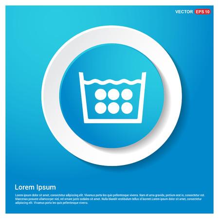 Laundry symbols icon Stock fotó - 118338296