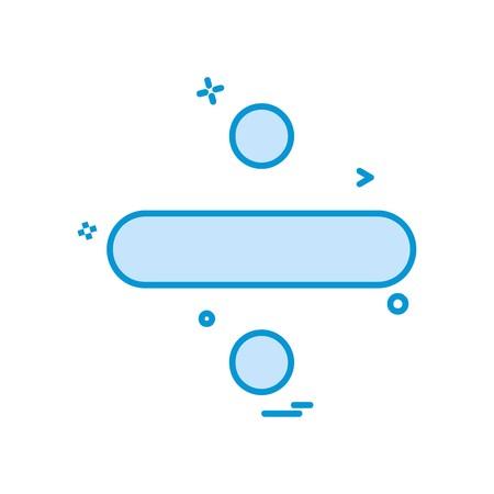 Divide icon design vector