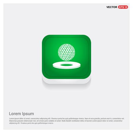 Golf design Icon