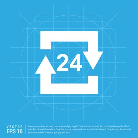 The 24/7 icon