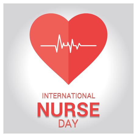 Happy Nurse day design vector