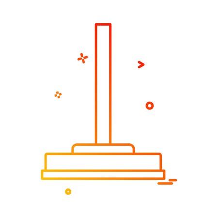 Viper icon design vector