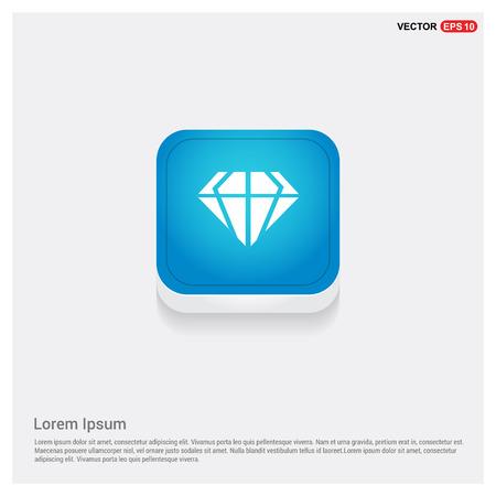 Diamond icon Illustration