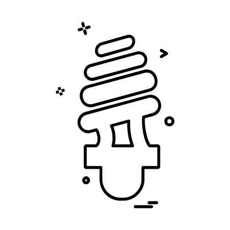 Bulb icon design vector Imagens - 118343436