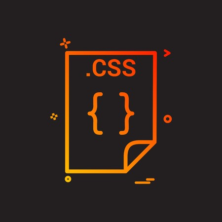 css application download file files format icon vector design
