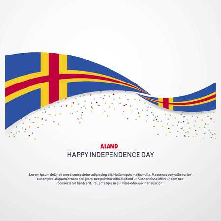 Aland Happy independence day Background