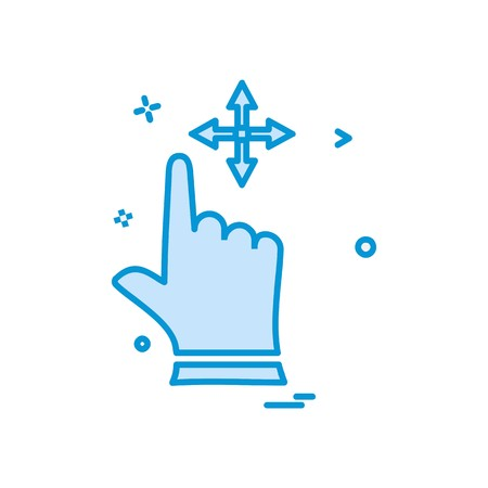 Hands icon design vector